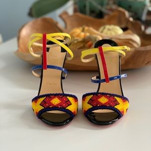 NIB Christian Louboutin Tipika sandals 36